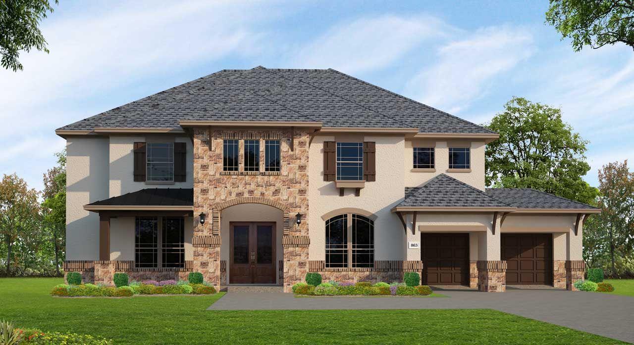 Single Family for Active at Sienna Plantation 85' - Plan F863 9802 Maroon Peak Missouri City, Texas 77459 United States