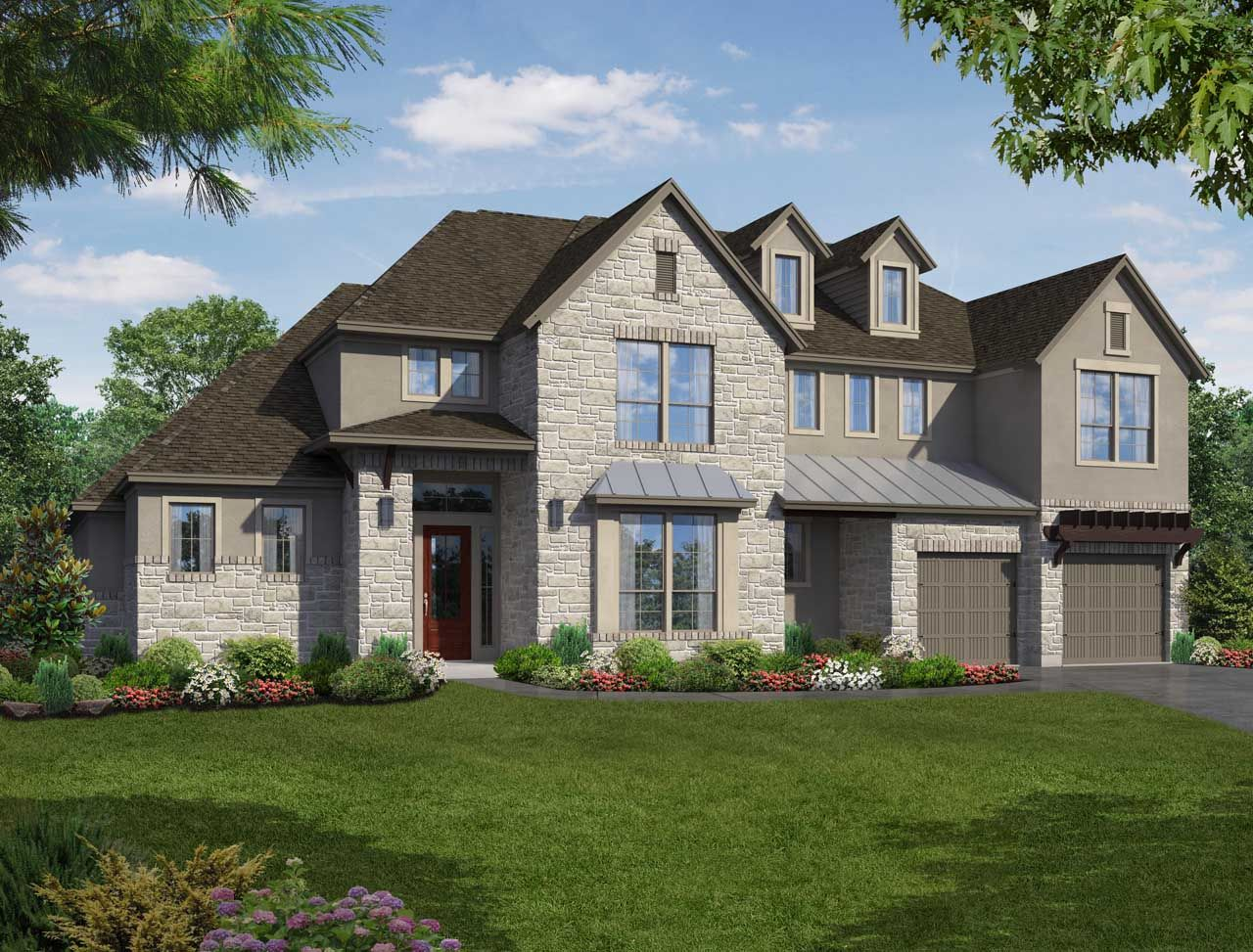 Single Family for Sale at Lakes Edge 80' - Plan 844m 11506 Lake Stone Drive Bee Cave, Texas 78738 United States