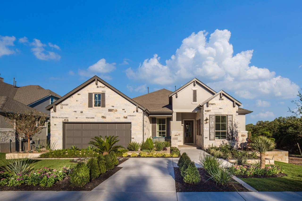 Single Family for Active at Plan 845m 109 Rosadi Cove Georgetown, Texas 78628 United States