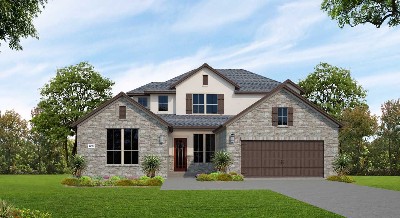 Single Family for Active at Lakes Edge 80' - Plan 608f 11506 Lake Stone Drive Bee Cave, Texas 78738 United States