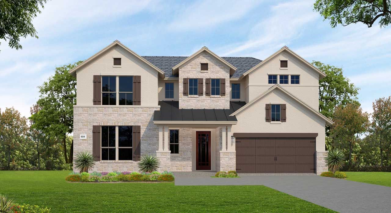 Single Family for Active at Lakes Edge 80' - Plan 604f 11506 Lake Stone Drive Bee Cave, Texas 78738 United States