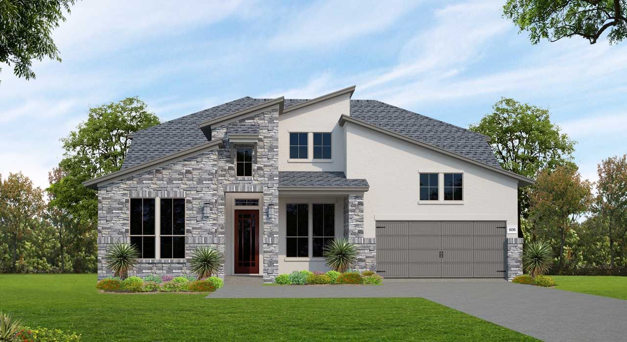 Single Family for Active at Lakes Edge 80' - Plan 606f 11506 Lake Stone Drive Bee Cave, Texas 78738 United States
