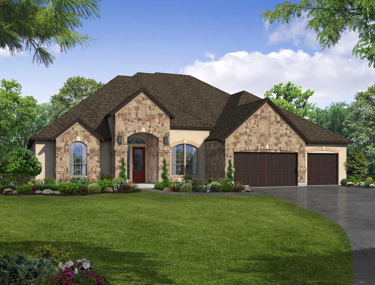 Single Family for Sale at Lakes Edge 70' & 80' - Plan 820m 2508 Ashley Worth Blvd Bee Cave, Texas 78738 United States