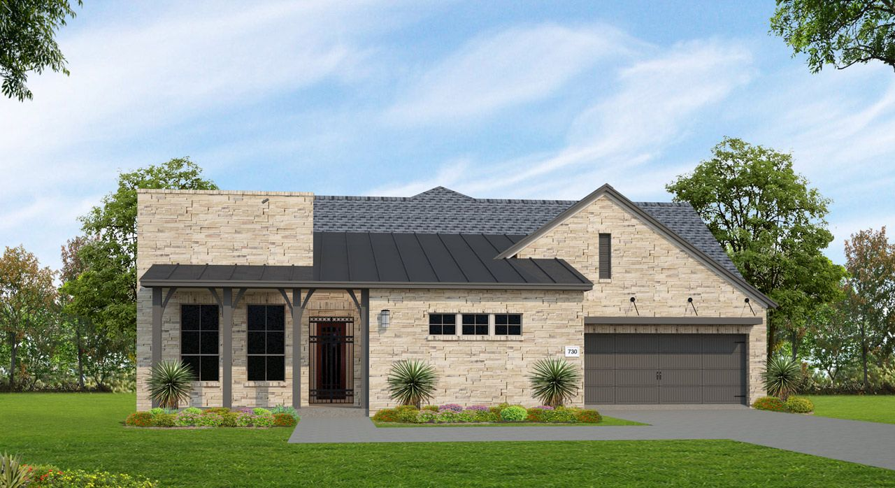 Single Family for Sale at Lakes Edge 70' - Plan 730c 11510 Lake Stone Drive Bee Cave, Texas 78738 United States