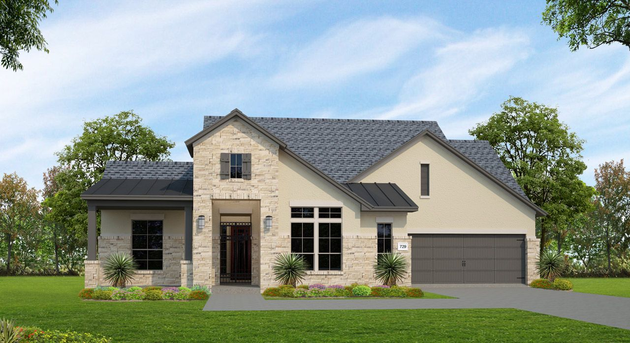 Single Family for Sale at Lakes Edge 70' & 80' - Plan 729c 2508 Ashley Worth Blvd Bee Cave, Texas 78738 United States