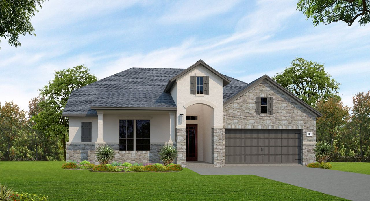Single Family for Sale at Lakes Edge 70' & 80' - Plan 601f 2508 Ashley Worth Blvd Bee Cave, Texas 78738 United States