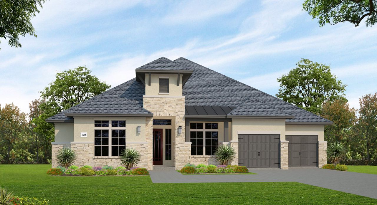 Single Family for Sale at Lakes Edge 70' & 80' - Plan 721f 2508 Ashley Worth Blvd Bee Cave, Texas 78738 United States