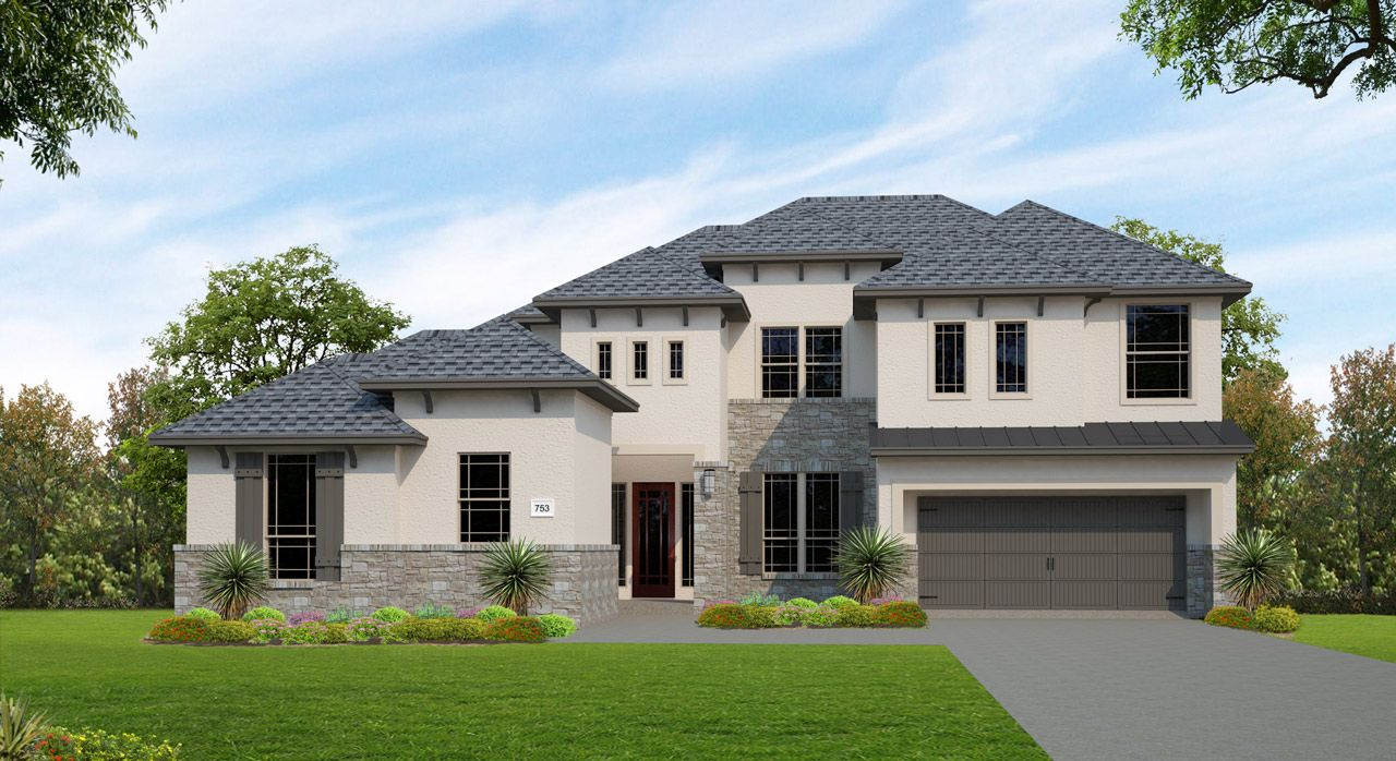 Single Family for Sale at Lakes Edge 70' & 80' - Plan 753c 2508 Ashley Worth Blvd Bee Cave, Texas 78738 United States