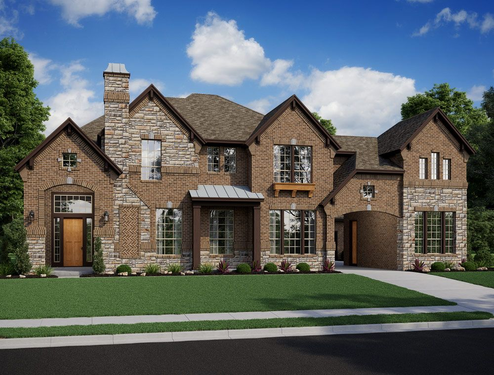 Single Family for Active at Lakes At Creekside 80' - Champagne 25411 Driftwood Harbor Tomball, Texas 77375 United States