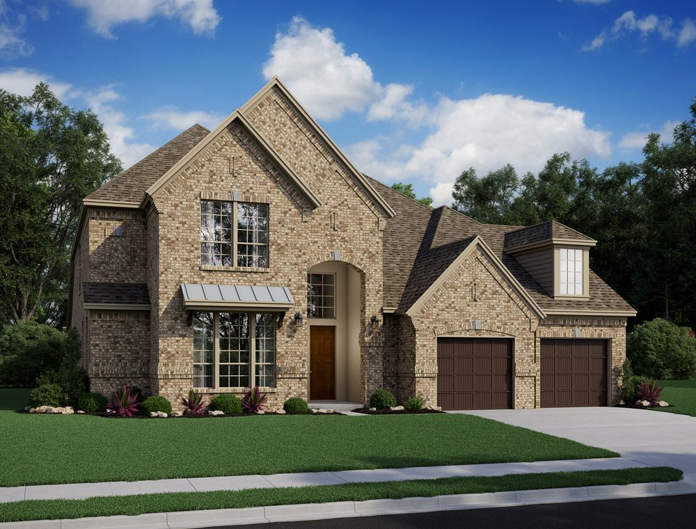 Single Family for Active at Lakes At Creekside 80' - Burton 25411 Driftwood Harbor Tomball, Texas 77375 United States