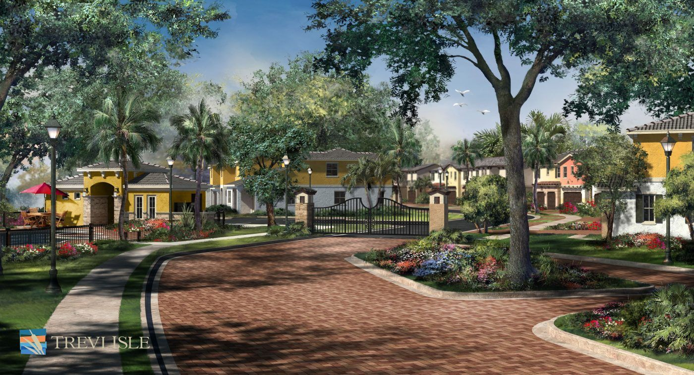 Trevi Isle By Kennedy Homes New Homes In Palm Beach