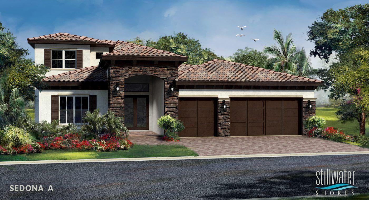 Single Family for Active at Stillwater Shores By Kennedy Homes - Sedona 5470 Sw 70th Avenue Davie, Florida 33314 United States