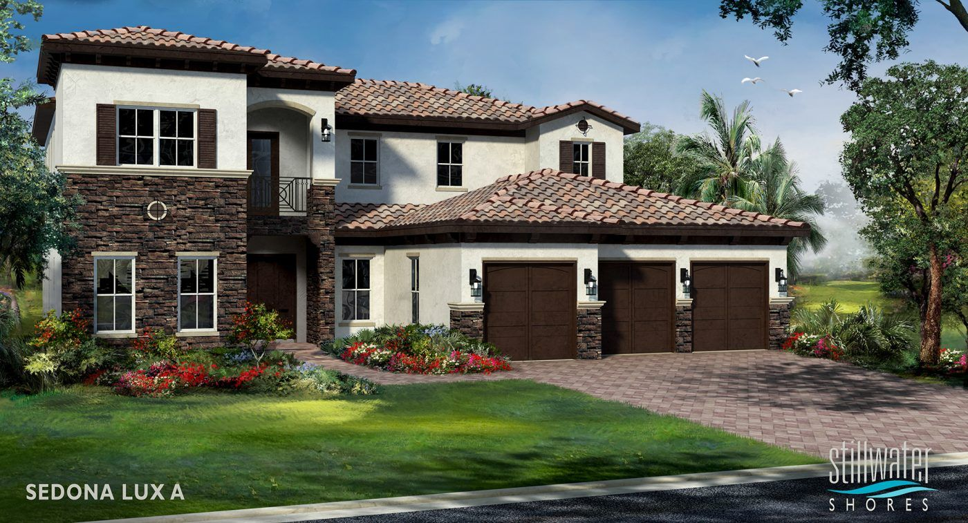 Single Family for Active at Stillwater Shores By Kennedy Homes - Sedona Lux 5470 Sw 70th Avenue Davie, Florida 33314 United States