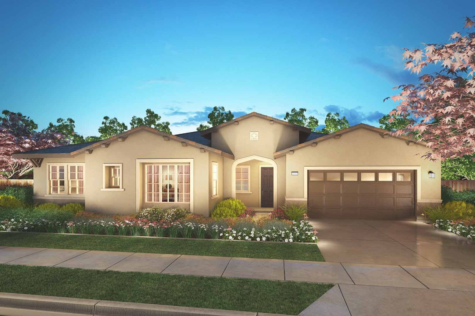 Marquette at barrington new homes in brentwood ca by tri for Barrington home builders