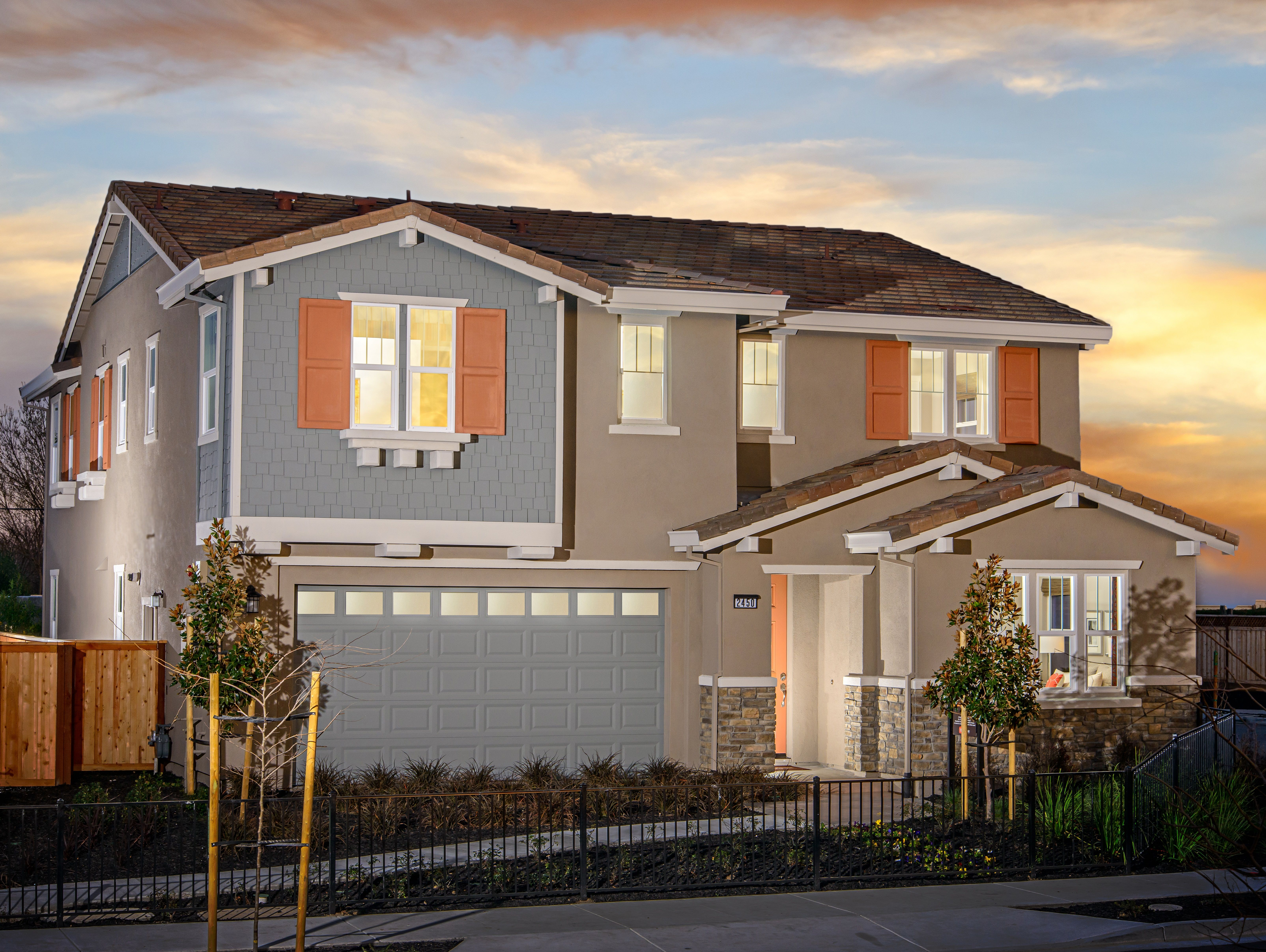 Single Family for Sale at Ventana - Residence 6 2350 Bentley Lane Tracy, California 95376 United States