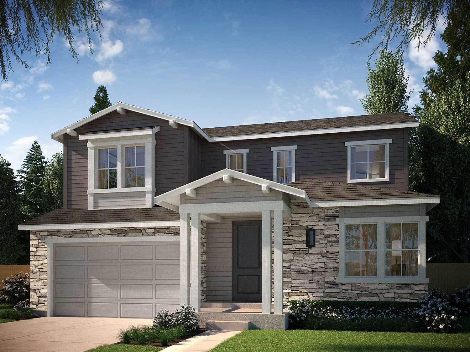 Tri pointe homes debut collection in ravenwood village at for Ravenwood homes