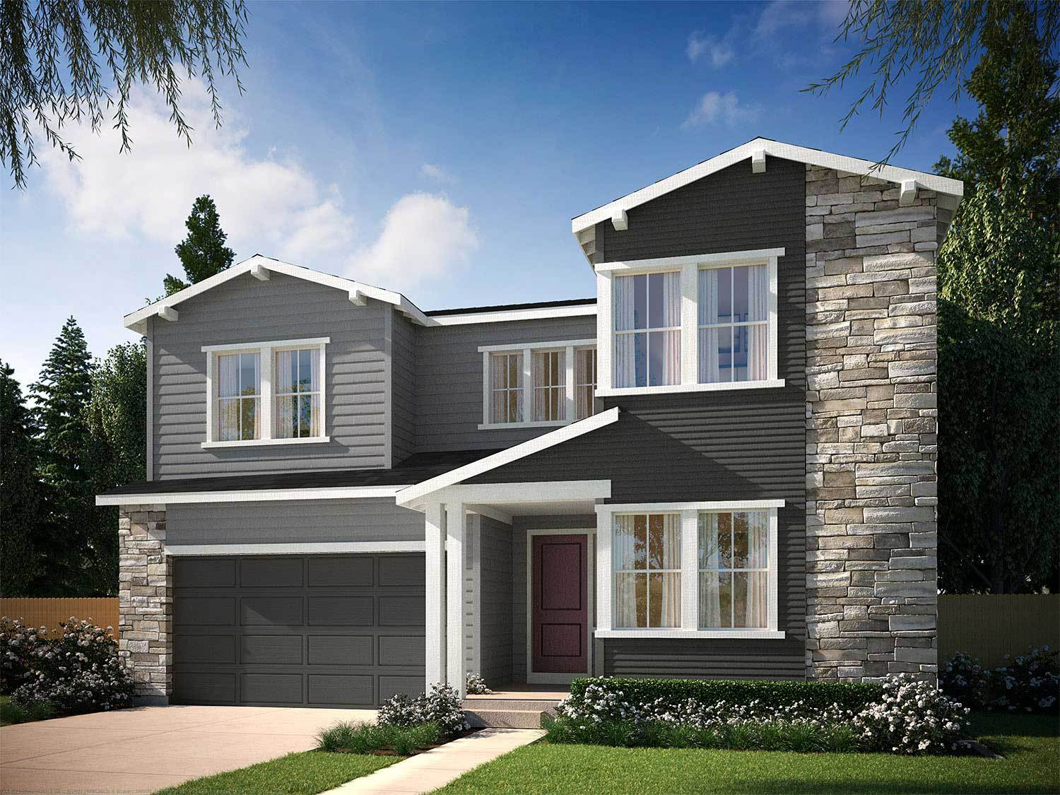 tri pointe homes debut collection in ravenwood village at