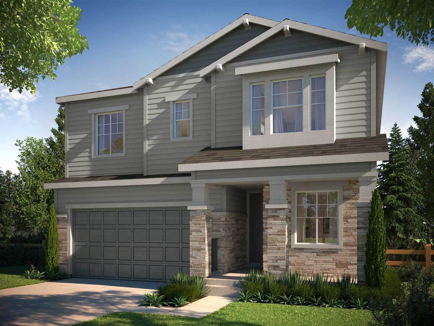 Tri pointe homes prelude collection in ravenwood village for Ravenwood homes