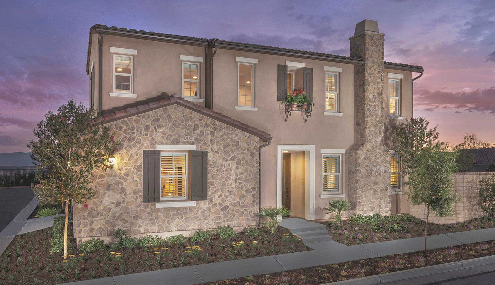 Grayson at five knolls new homes in santa clarita ca by for Grayson home