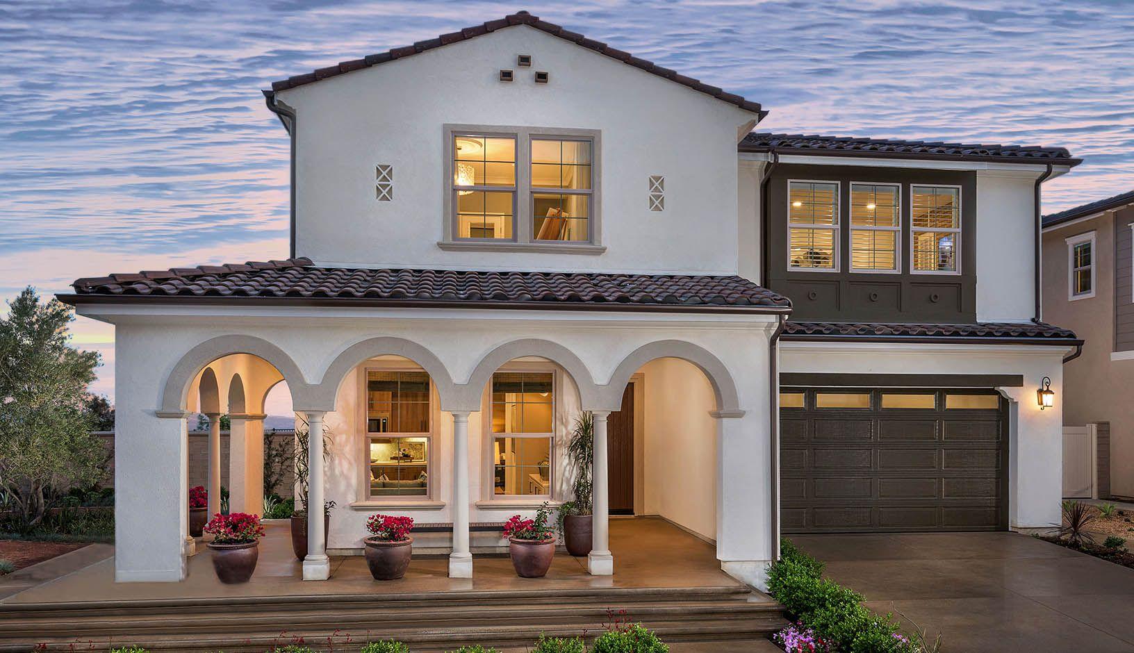 단일 거주 용 매매 에 Bradford At Rosedale - Residence 3 742 East Orange Blossom Way Azusa, California 91702 United States