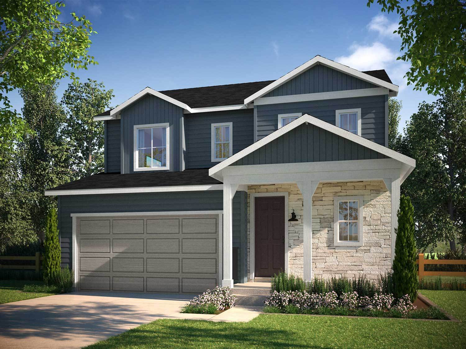 Elevation Of Stone Ridge Ny : Tri pointe homes terrain prelude collection in ravenwood