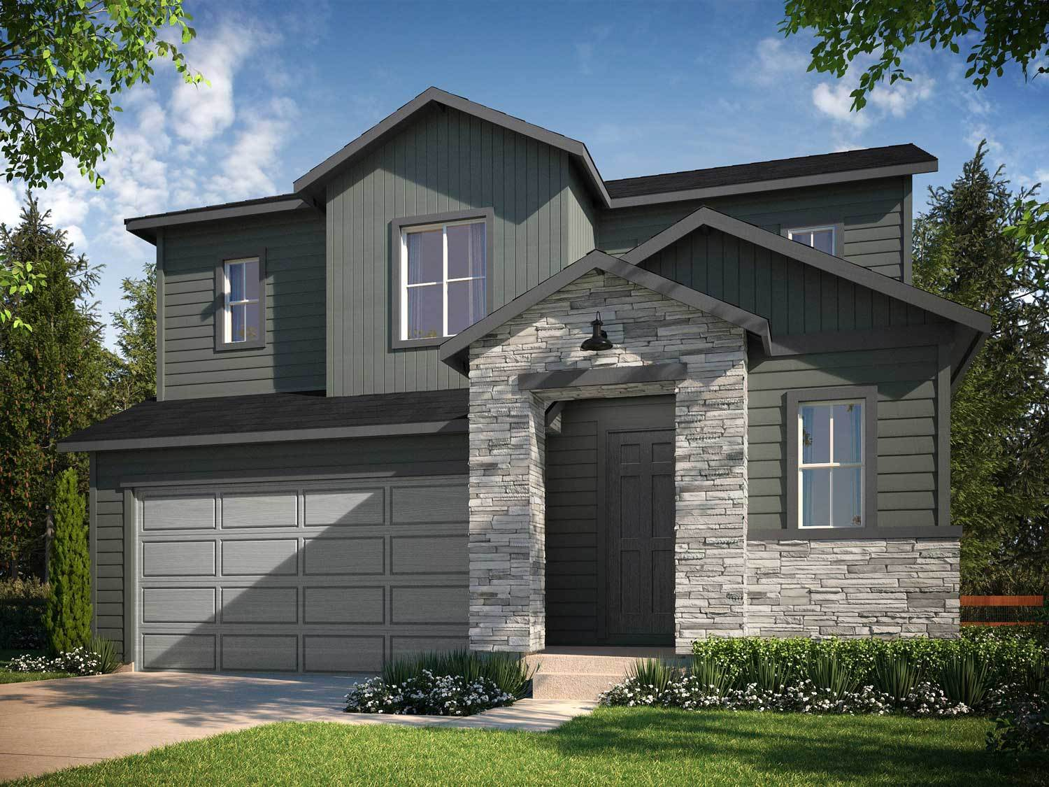 Tri pointe homes terrain prelude collection in ravenwood for Ravenwood homes