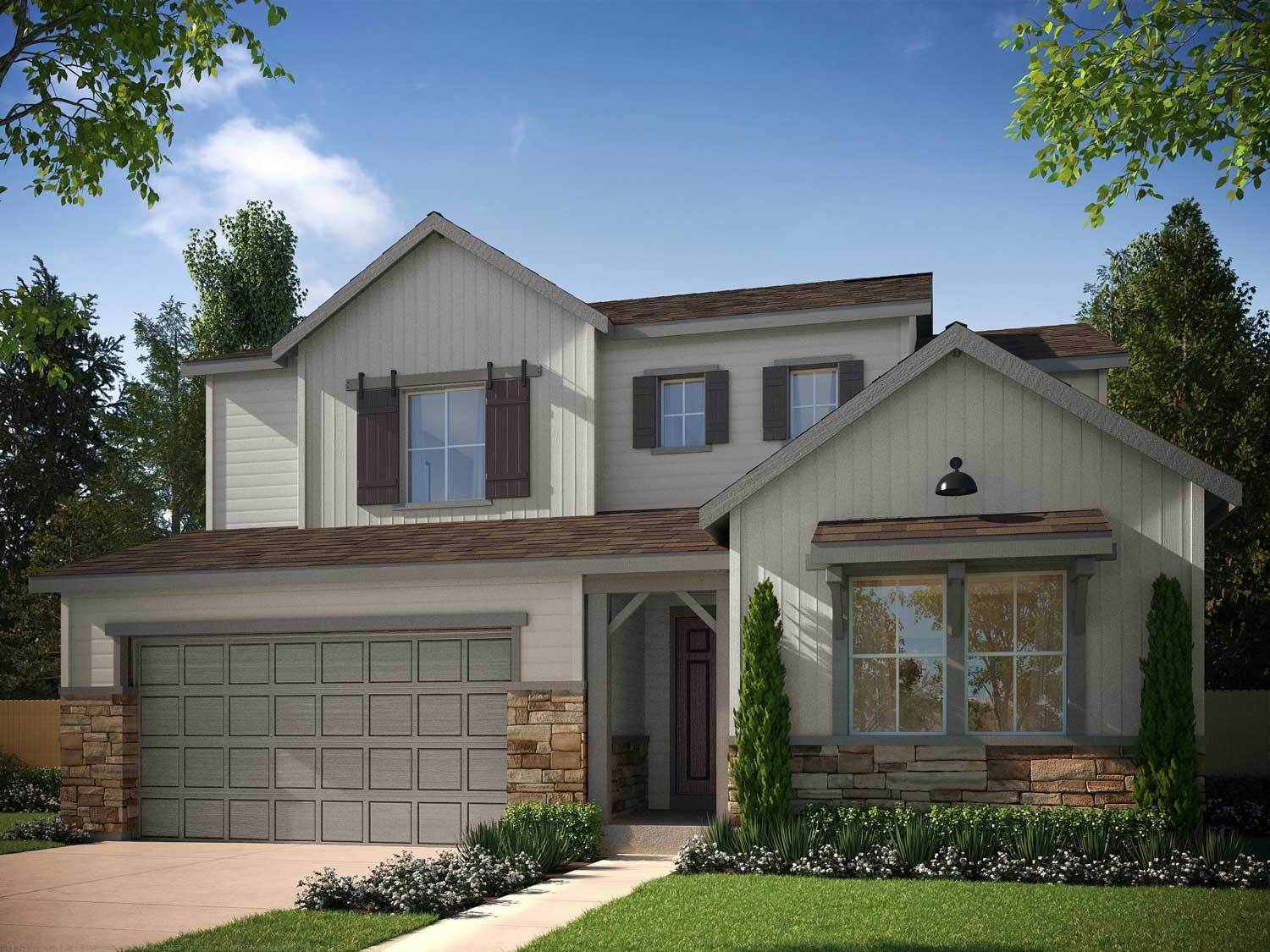 Additional photo for property listing at Debut Collection In Ravenwood Village At Terrain - Residence 4009 4848 Basalt Ridge Circle Castle Rock, Colorado 80108 United States