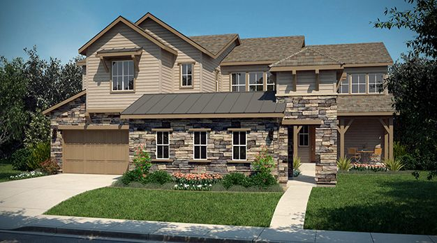 Single Family for Sale at Encore Collection At Whispering Pines - Residence 6004 8292 S. Langdale Way Aurora, Colorado 80016 United States