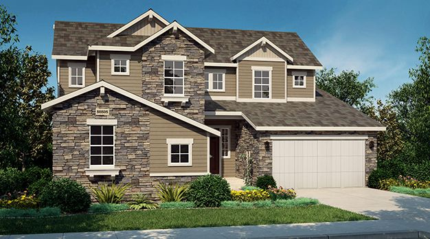 Single Family for Sale at Encore Collection At Whispering Pines - Residence 5005 8292 S. Langdale Way Aurora, Colorado 80016 United States