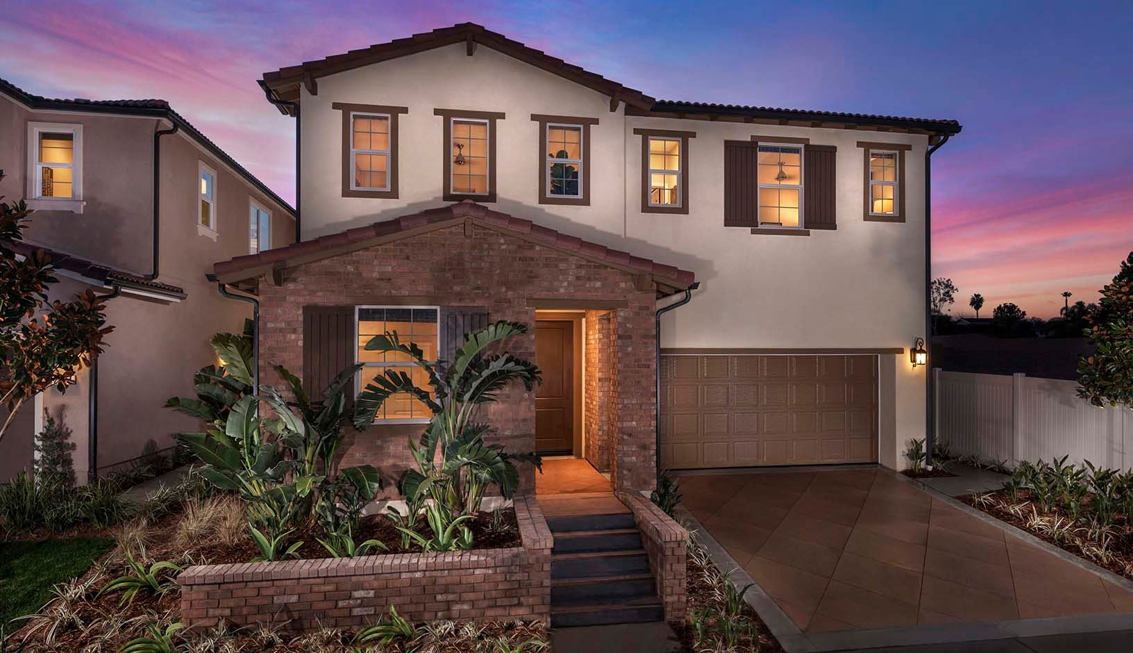 Terrassa villas new homes in corona ca by tri pointe homes for Villas corona