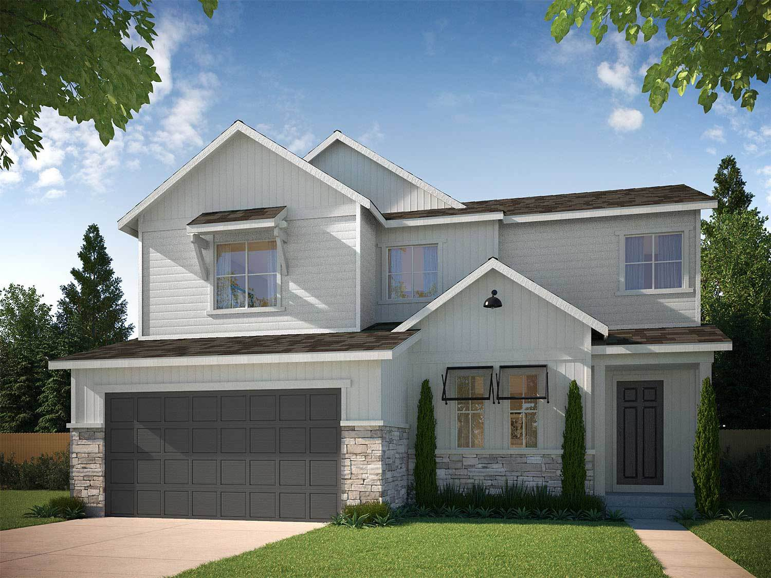 Tri pointe homes terrain debut collection in ravenwood for Ravenwood homes