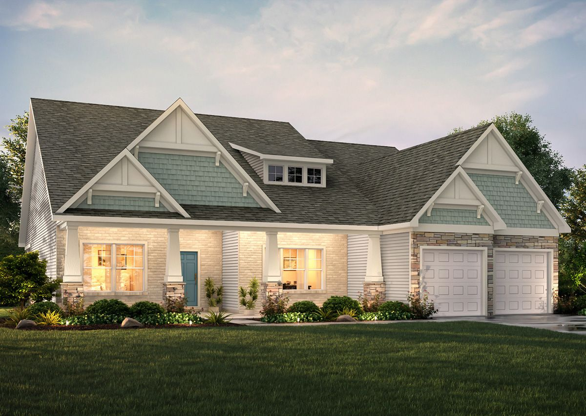 Single Family for Active at Rourk Woods - The Langley 4869 Sugarberry Drive Shallotte, North Carolina 28470 United States