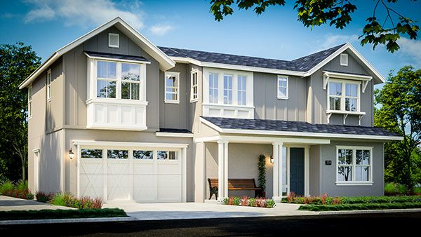 Single Family for Sale at Glass Bay - Seagrass Plan 2 Willow St & Enterprise Dr. Newark, California 94560 United States