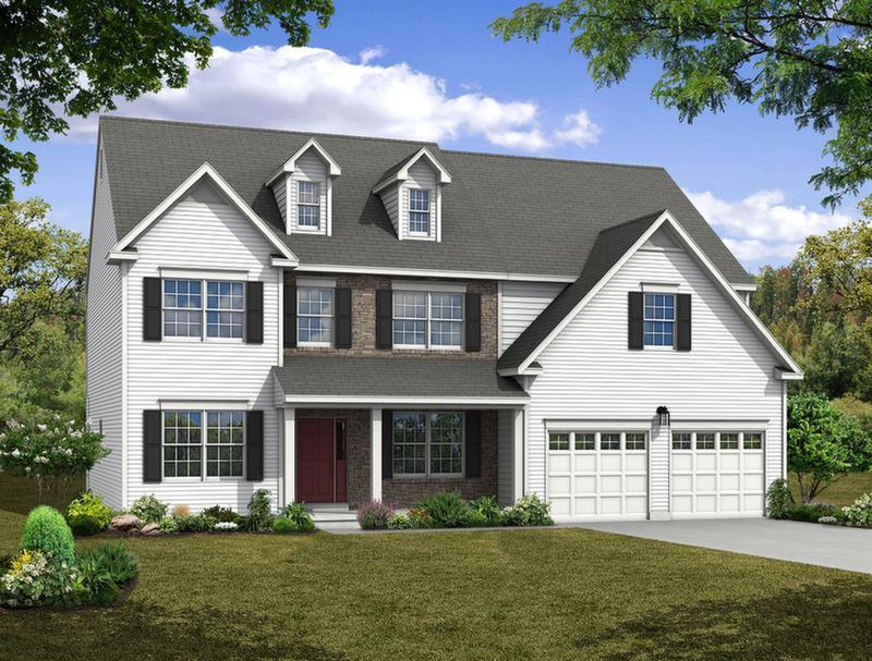 Single Family for Sale at Maple Shade Estates (Bethlehem Twp) - Breckenridge Farmhouse 3796 Bethman Road Easton, Pennsylvania 18045 United States