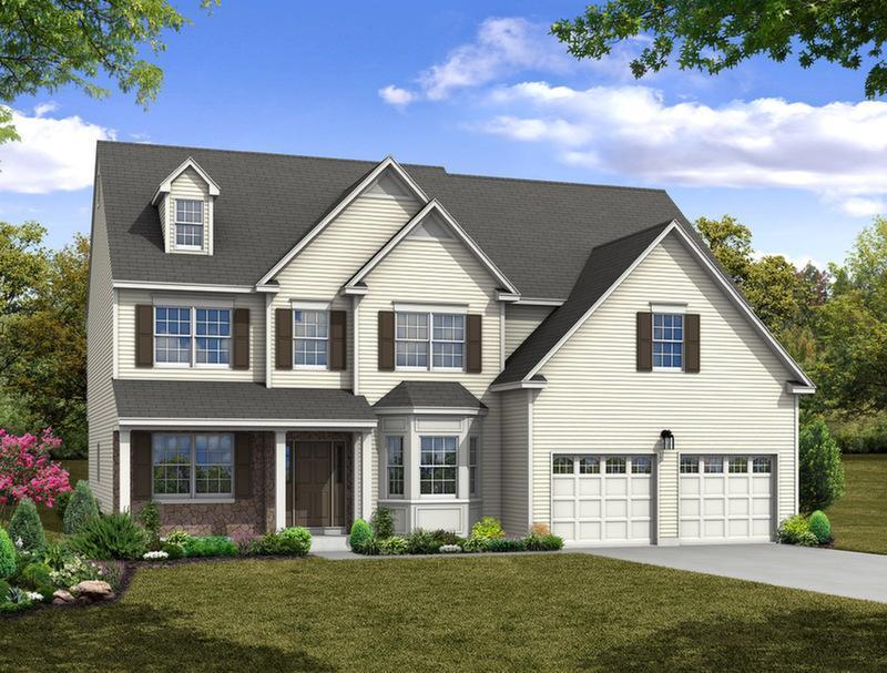 Single Family for Sale at Maple Shade Estates (Bethlehem Twp) - Breckenridge Traditional 3796 Bethman Road Easton, Pennsylvania 18045 United States