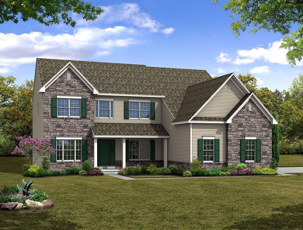 Single Family for Sale at Maple Shade Estates (Bethlehem Twp) - Churchill Farmhouse 3796 Bethman Road Easton, Pennsylvania 18045 United States