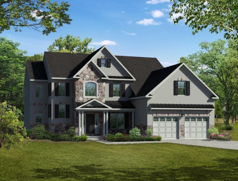 Single Family for Sale at Maple Shade Estates (Bethlehem Twp) - Farnsworth Farmhouse 3796 Bethman Rd. Easton, Pennsylvania 18045 United States