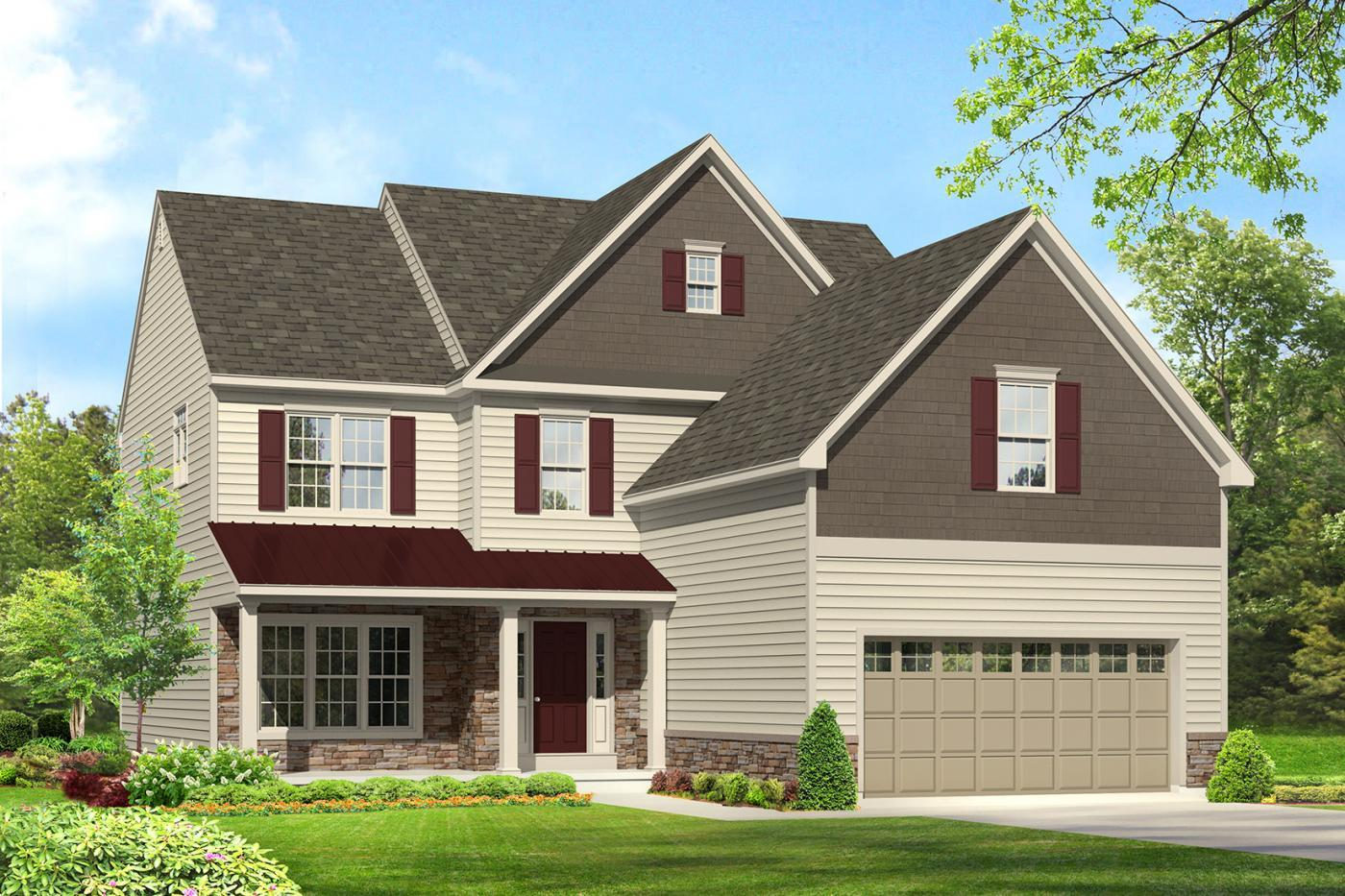 Single Family for Sale at Maple Shade Estates (Bethlehem Twp) - Sherwood Grande 3796 Bethman Rd. Easton, Pennsylvania 18045 United States