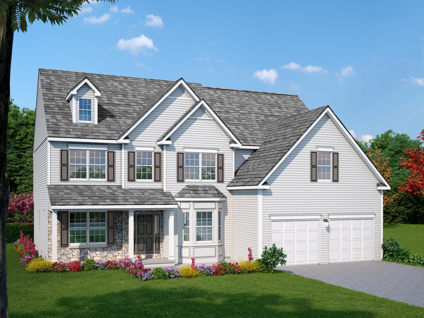 Single Family for Sale at Maple Shade Estates (Bethlehem Twp) - Breckenridge Traditional 3796 Bethman Rd. Easton, Pennsylvania 18045 United States