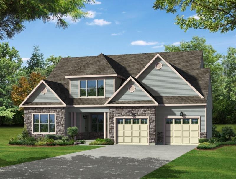 Single Family for Sale at Maple Shade Estates (Bethlehem Twp) - Alston Traditional 3796 Bethman Road Easton, Pennsylvania 18045 United States