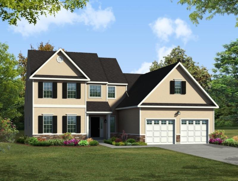 Single Family for Sale at Maple Shade Estates (Palmer Twp) - Davison Traditional 3796 Bethman Road Easton, Pennsylvania 18045 United States