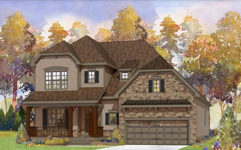 Single Family for Active at 121 Roseroot Ct-Reward Builders 121 Roseroot Court Holly Springs, North Carolina 27540 United States