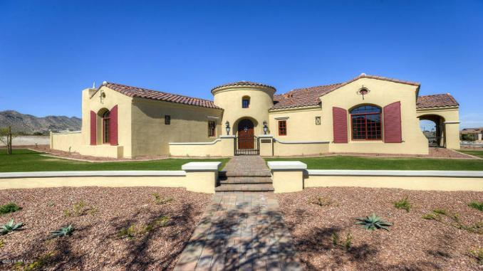 Single Family for Active at Verrado Custom Homes - Ironwood 21248 W. Sunrise Lane Buckeye, Arizona 85396 United States