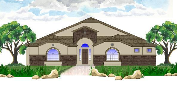 Single Family for Active at Sonterra - Sunset 17901 E. Riggs Rd. Queen Creek, Arizona 85142 United States