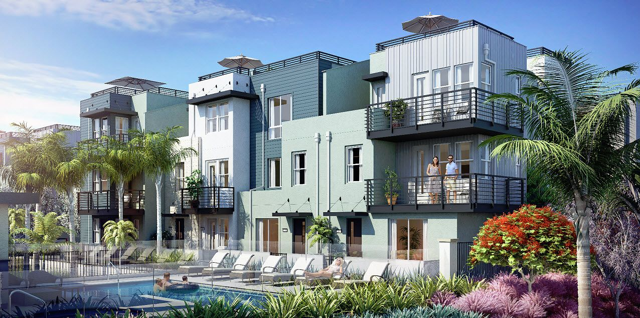 Multi Family for Sale at Vista Del Mar - Plan 4 1569 Vista Del Mar Way #3 Oceanside, California 92054 United States