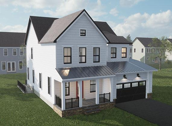 Single Family for Active at Prosperity Plains - Grandin 25474 Woodbine Farm Drive Chantilly, Virginia 20152 United States