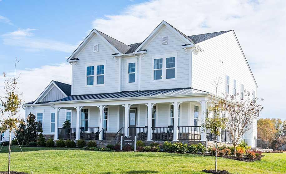 Single Family for Active at Meadowbrook Farm - Timberneck Ii 1017 Akan Street Se Leesburg, Virginia 20175 United States