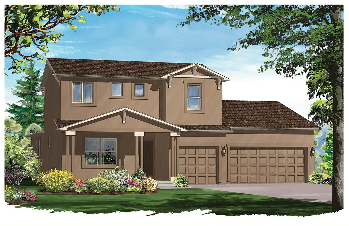 Single Family for Sale at Sanctuary Pointe - Palmer 1670 Summerglow Lane Monument, Colorado 80132 United States