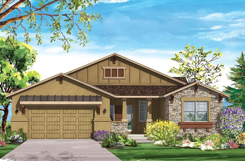 Single Family for Sale at Flying Horse - Arabian 2043 Ripple Ridge Rd. Colorado Springs, Colorado 80921 United States