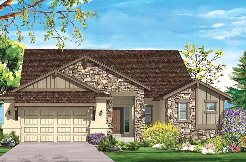 Additional photo for property listing at Sanctuary Pointe - Arabian 1670 Summerglow Lane Monument, Colorado 80132 United States